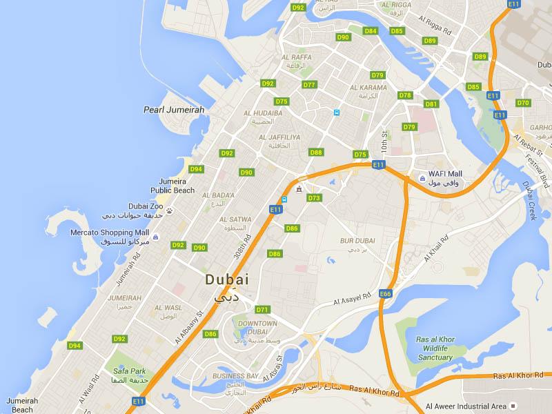 DubaiMap